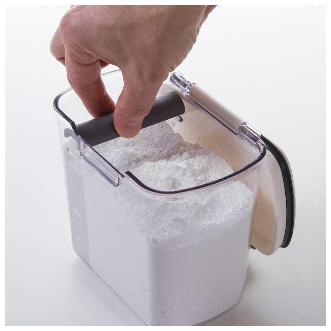 PKS-300 Progressive International Plastic Powdered Sugar ProKeeper Container (2 Pack) 4