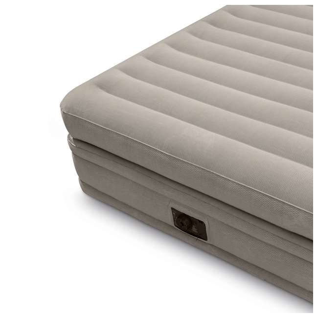 64445E Intex Prime Comfort Elevated Queen Airbed with Built-In Pump 1