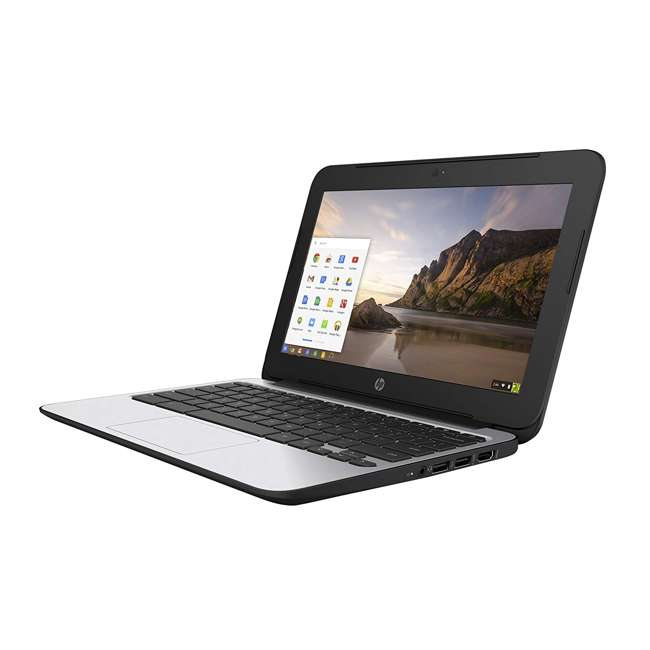 "P0B79UT#ABA-C-SKIN HP ChromeBook 11 N2840, 2GB RAM, 16GB SSD 11.6"" Laptop (Certified Refurbished) 2"