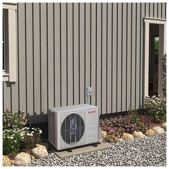 8733942701 + 8733942702 + 8733951015 Bosch High Efficiency Ultra-Quiet Mini Split Air Conditioner & Cooling System 3