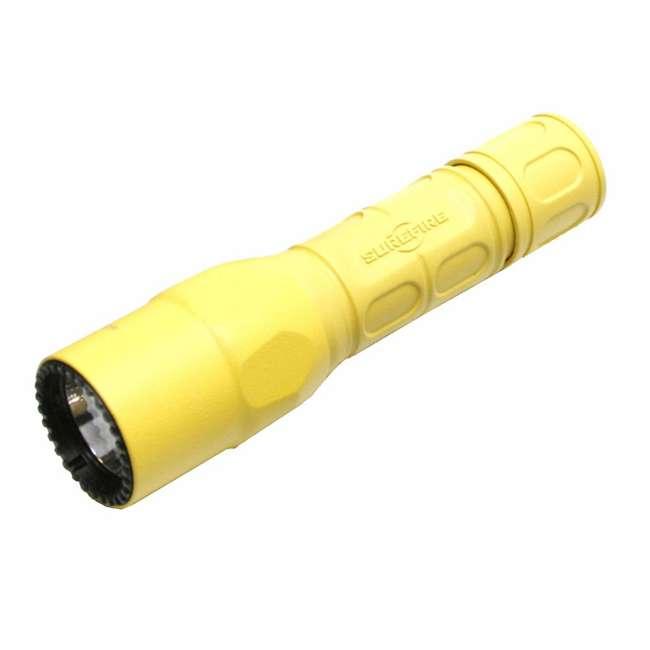 G2X-D-YL SureFire Pro Lightweight High Performance Dual Output LED Flashlight, Yellow