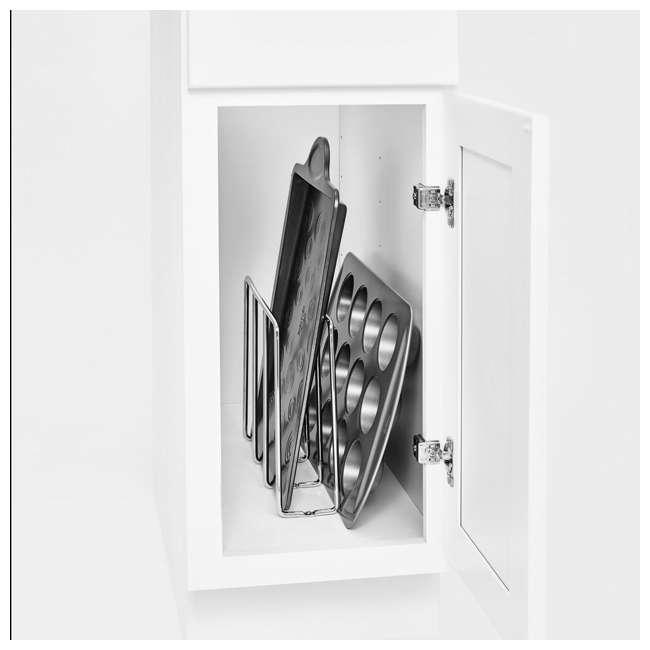 596-10CR-52 Rev-A-Shelf U-Shaped Tray Divider Organizer for Cabinets, Chrome (2 Pack) 2
