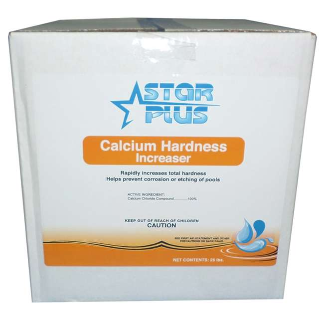 Star Plus Calcium Hardness Increaser For Pools 25 Pounds