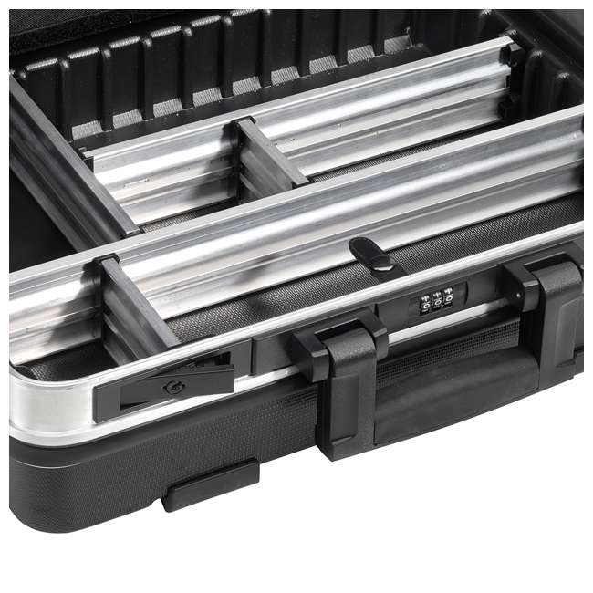 120.04/P B&W International GO Portable Wheeled Rolling Tool Case Box with Pocket Boards 2