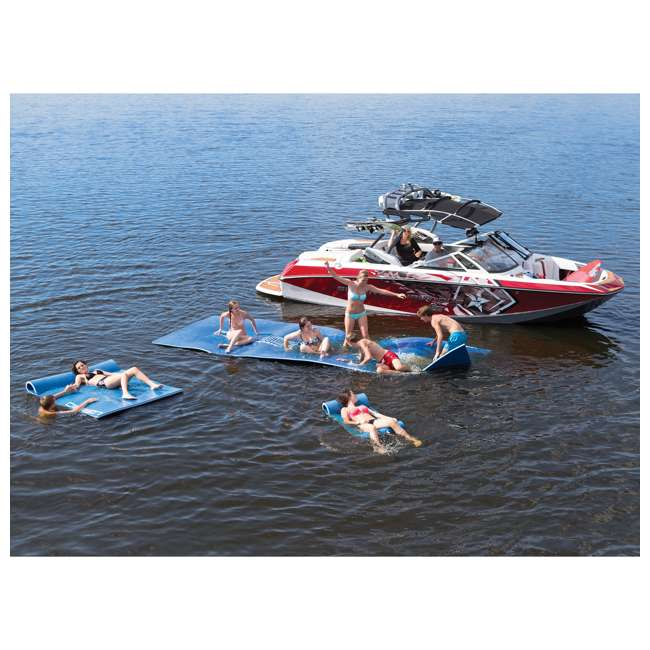 6 x 2151571-MW OBrien 78 x 24-Inch Foam Hammock Pool Float, Blue (6 Pack) 3