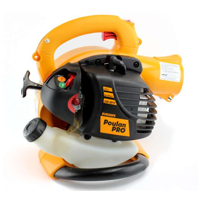 BVM200-A Poulan Pro Gas-Powered Leaf Blower/Vacuum | BVM200VS 4