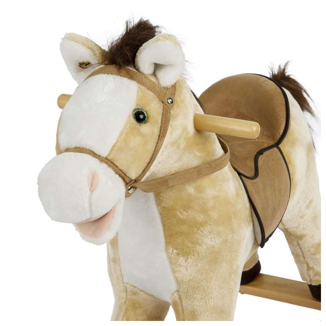 5-20401M-U-A Rockin' Rider Animated Toddler Toy Rocking Riding Sit On Plush Horse (Open Box) 2