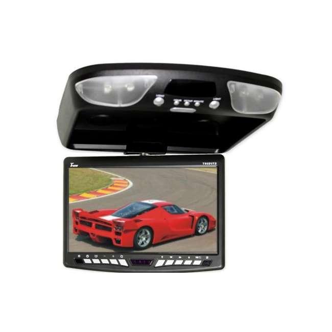 T90DVFDBK TVIEW BLACK 9-Inch LCD Flip Down Car Monitor