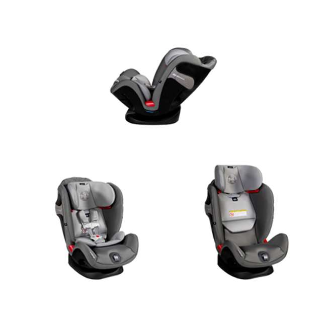 518002887 Cybex Gold Eternis S Convertible Infant Car Seat w/ SensorSafe, Pepper Black 1