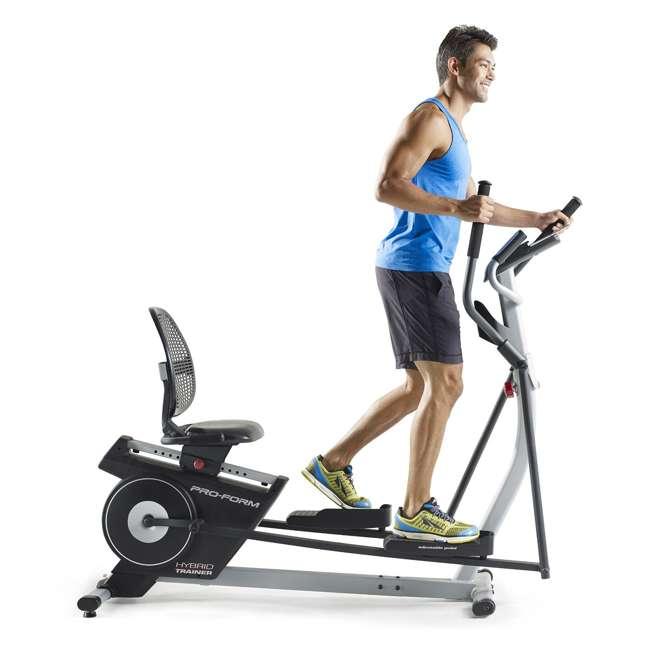 ProForm Hybrid Elliptical & Recumbent Bike Home Gym