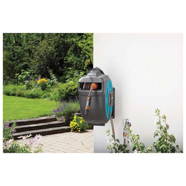 GARD-8024 Gardena Retractable 115-Foot Hose Reel With Hose Guide 1
