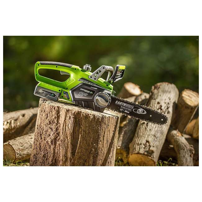 LCS32412 Earthwise 12-Inch 24-Volt Cordless Battery Powered Chainsaw 3