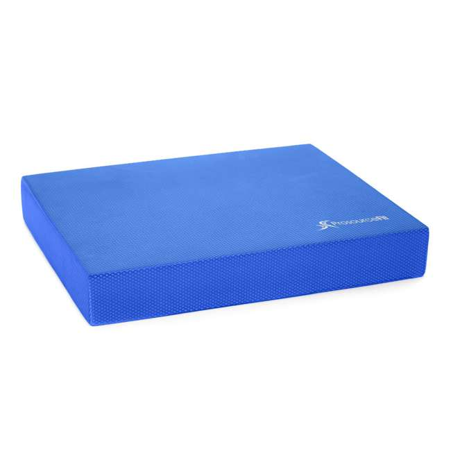 ps-1040-bp-l-blue Prosource Fit Foam Exercise Stability Physical Therapy Balance Pad Mat, Blue