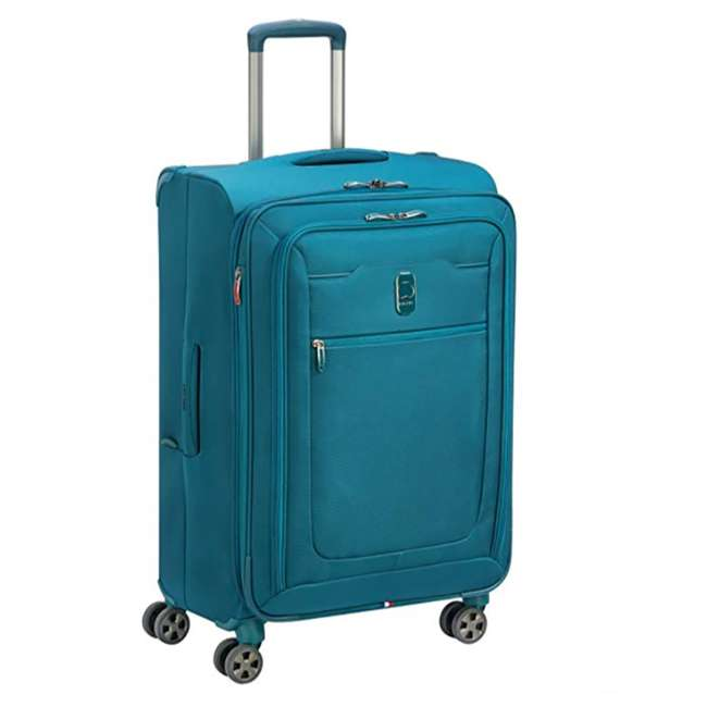 40229198732 DELSEY Paris 3 Sized Reliable Hyperglide Softside Travel Luggage Bag Set, Teal 5