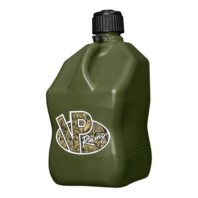 "3846 VP Racing Fuels 5-Gal. Motorsport Liquid Container, Camo w/ 14"" Standard Hose 1"