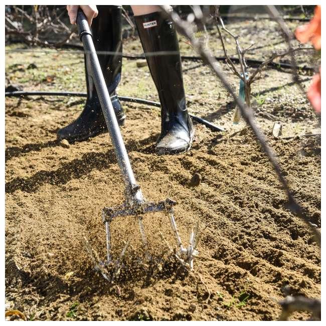 IRC-3-U-B Yard Butler 32 to 52 Inch Steel Garden Handheld Tiller and Cultivator (Used) 4