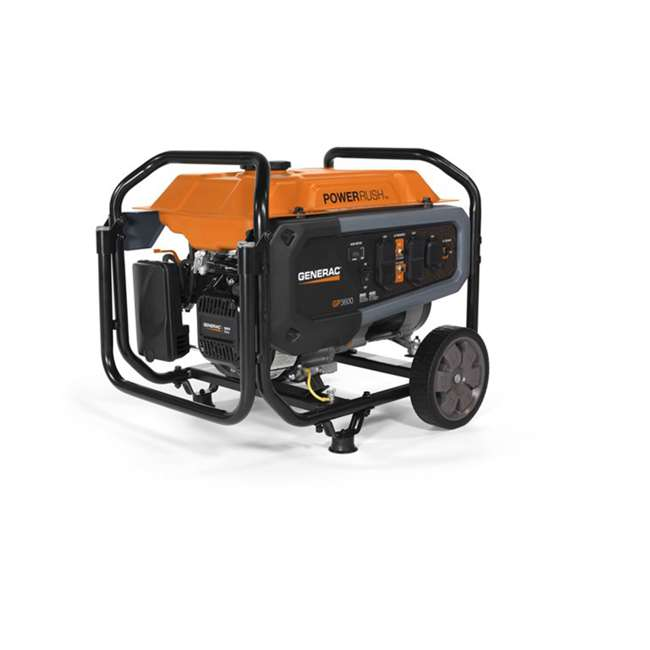 GNRC-76771 Generac GP Series 3600 Watt OHV Engine Portable Generator, Orange 1