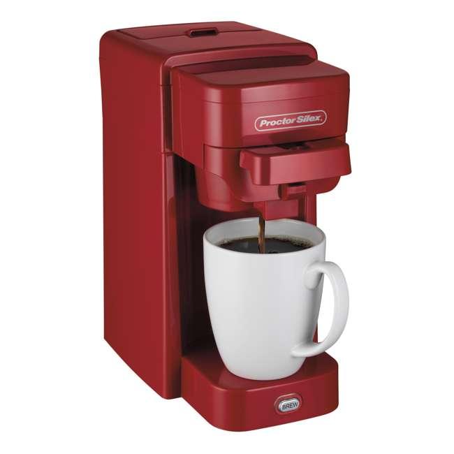 49964 Proctor Silex 10-Ounce Single-Serve Coffee Maker