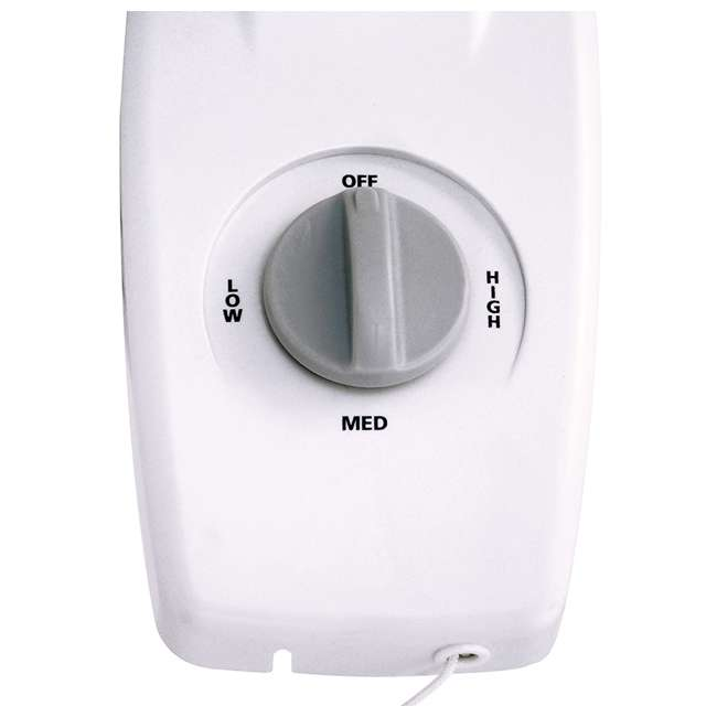 AK-9012-TX-U-B Air King 12-Inch 3-Speed 1/50 HP Commercial Oscillating Wall Fan, White (Used) 4