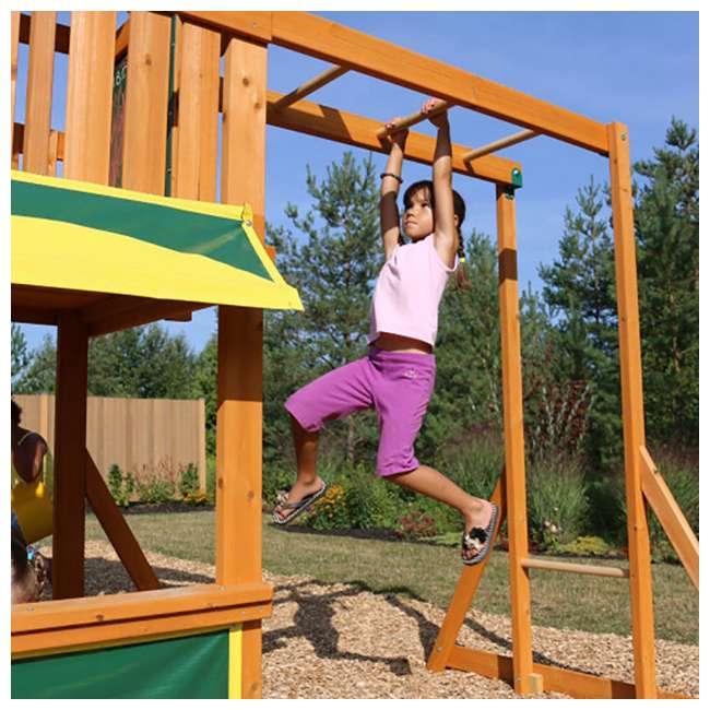 F23242 KidKraft F23235 Brookridge Childrens Wooden Outdoor Swing Set Playset Playground 4