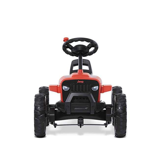 24.30.13.00 BERG Toys Jeep Buzzy Rubicon Pedal Powered Kids Safe Go Kart, Red 4