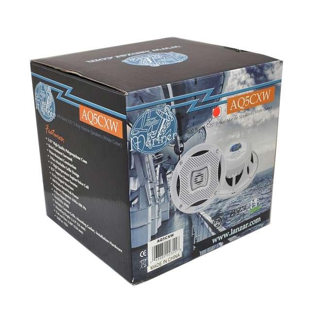AQ5CXW Lanzar AQ5CXW 5.25-Inch 400 Watt Marine Speakers (Pair) 3