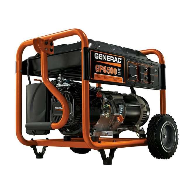 GNRC-5940 Generac 5940 GP6500 6500W Running/8125W Starting Gas Powered Portable Generator