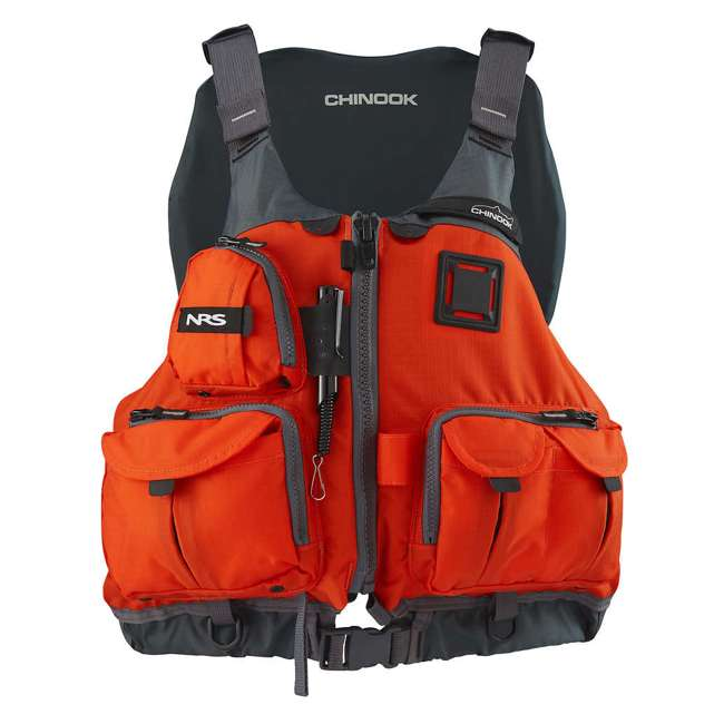 NRS_40009_03_105 + NRS_40009_03_102 NRS Adult Chinook Fishing Boating PFD S/M & L/XL Safety Life Jackets 1