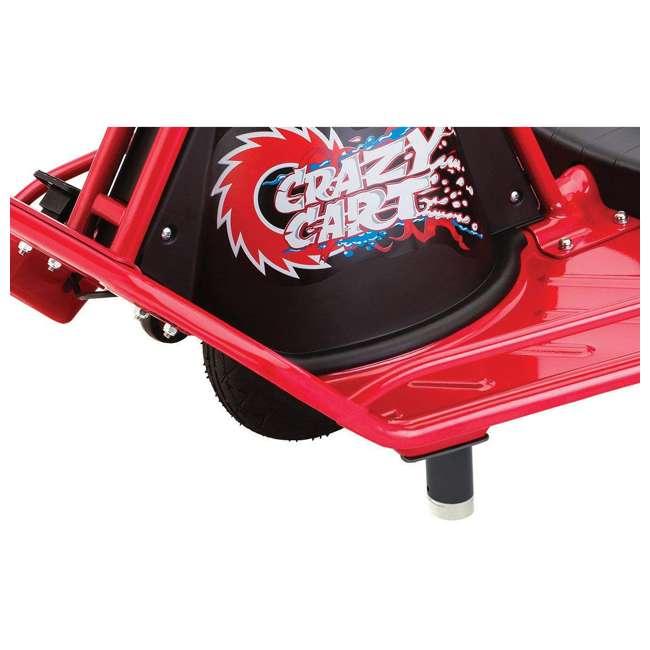 25143499 Razor Crazy Cart Electric 360 Spinning Drifting Ride On Go Cart  3