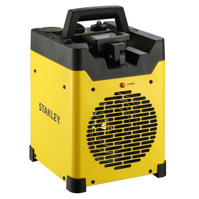 ST-400LED-120 Stanley ST-400LED-120 1500W Heavy Duty Heater with LED Light and USB, Yellow 1