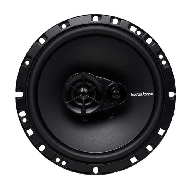 R165X3-U-B Rockford Fosgate 6.5-Inch 90W 3 Way Coaxial Speakers (Pair) 1