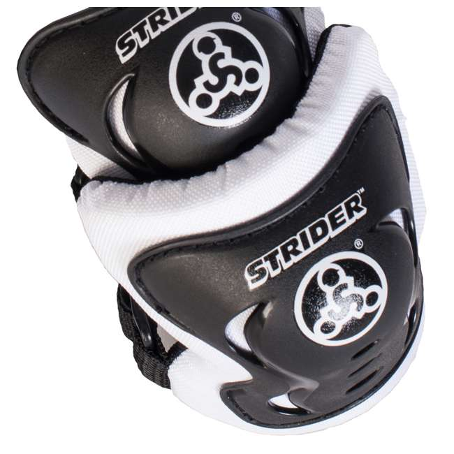 ST-S4WT + APADSET-SM Strider 12 Sport Balance Bike + Protection and Safety Elbow and Knee Pad Set 6