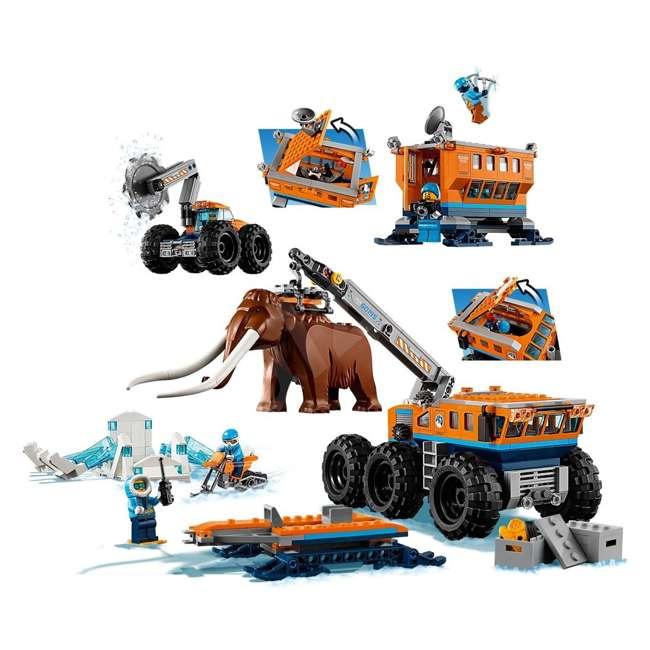 6212400-U-A Lego City Arctic Mobile Exploration Base Toy Set for Children, Blue (Open Box) 3