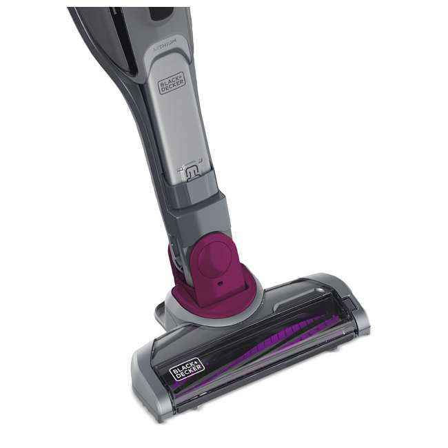 HSVJ415JMPA07 Black And Decker SmarTech 20-Volt 2-In-1 Cordless Pet Hair Vacuum 10