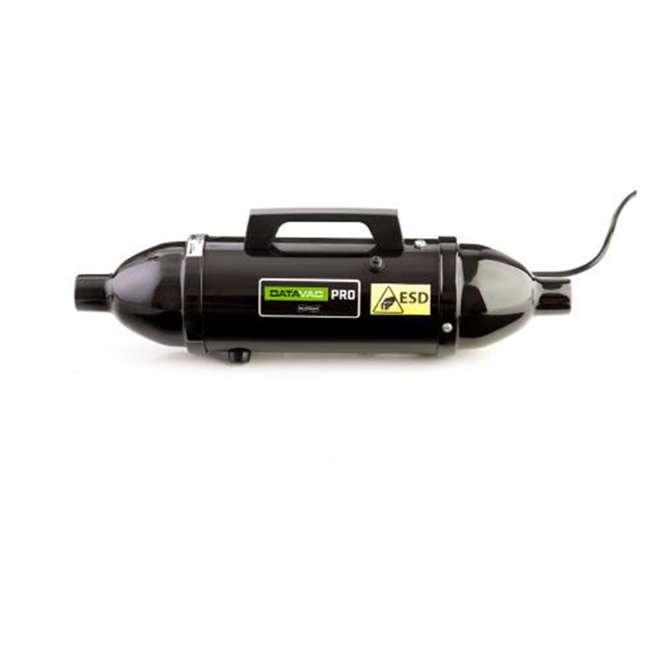 MDV-1ESD MetroVac DataVac ESD Safe Pro Series Vacuum and Blower Black 1