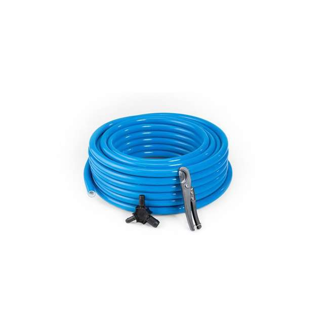 M6026 MaxLine 100 Ft 1/2 In Compressed Air Tubing with Beveling Tool and Cutter, Blue