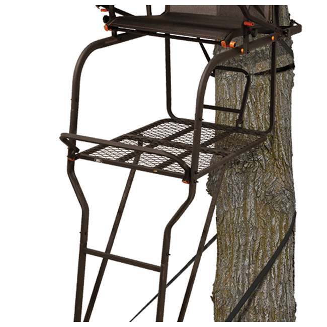 BGM-LS0550 Big Game LS0550 Hunter HD 1.5 Deer Hunting 18.5 Foot 1 Person Ladder Tree Stand 3