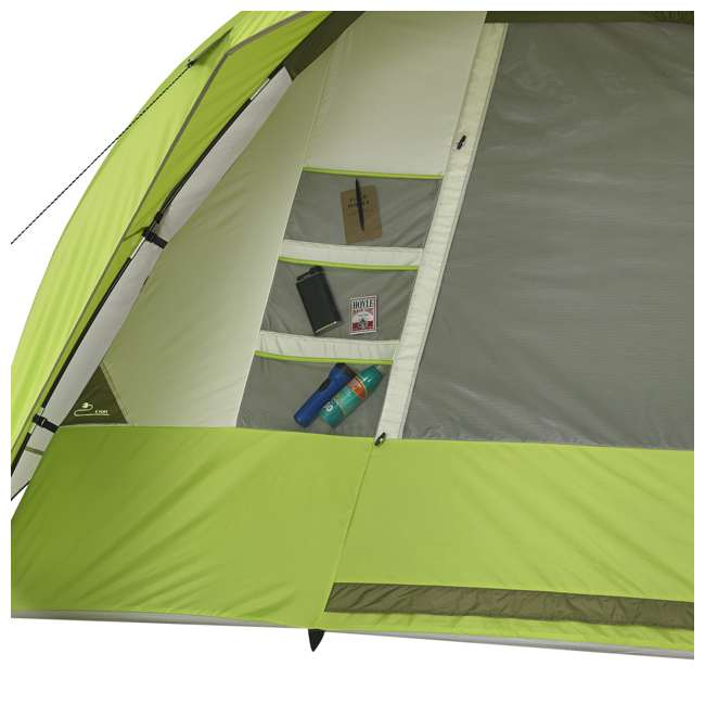 7362516 Wenzel 8-Person Portico Outdoor Family Camping Tent, Green (2 Pack) 6