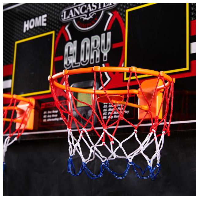 BBG019_018P-U-A Lancaster 2 Player Scoreboard Arcade 3 in 1 Basketball Sports Game (Open Box) 10