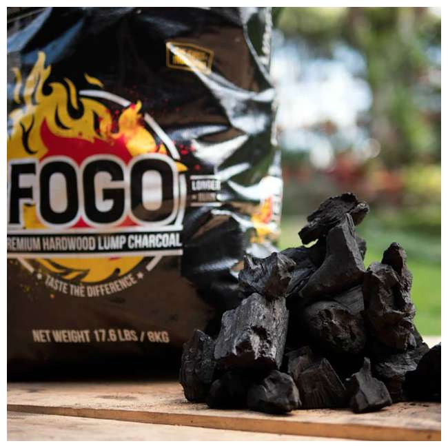 FG-CH-FB-17 FOGO Premium Oak Restaurant All-Natural Hardwood Lump Charcoal, 17.6 Pounds 3