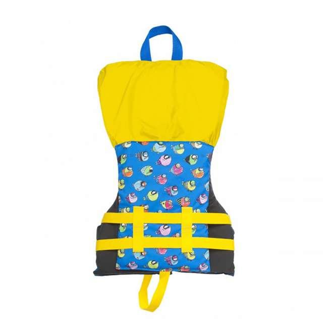 12 x 10086-02-A-BL Airhead Crayon Fish Child Life Vest, Blue (12 Pack) 2