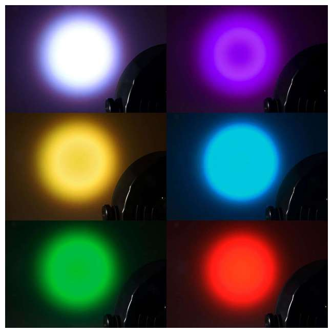 SLIM-PAR56-WHITE-OB Chauvet SlimPar 56 LED DMX Slim Par Can Light, White (Open Box) 3