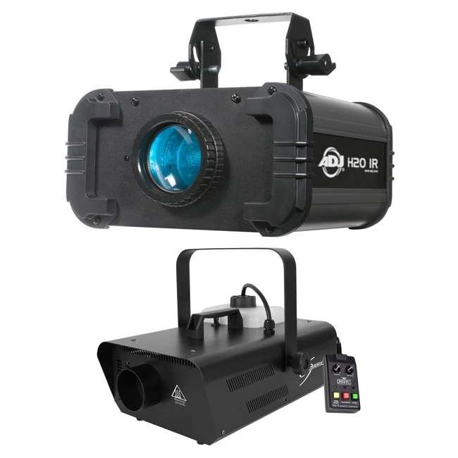 H2O-IR + H1302 ADJ H2O IR LED Water Light Effect w/Chauvet Fog Machine