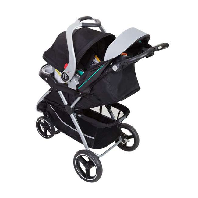 TS89B25B Baby Trend Skyview Plus Adjustable Stroller and Car Seat Travel System, Ziggy 2