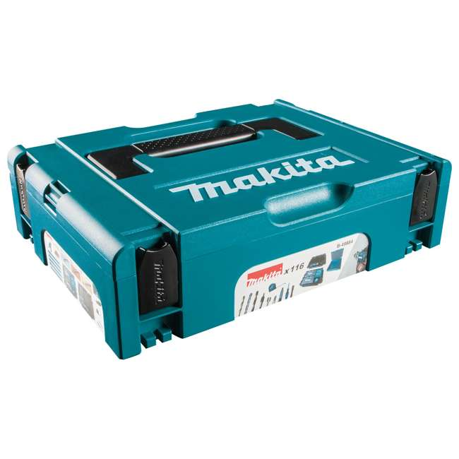 B-49884-U-A Makita 116 Piece Drilling Fastening Metric Bit Hand Tool Set (Open Box) 7