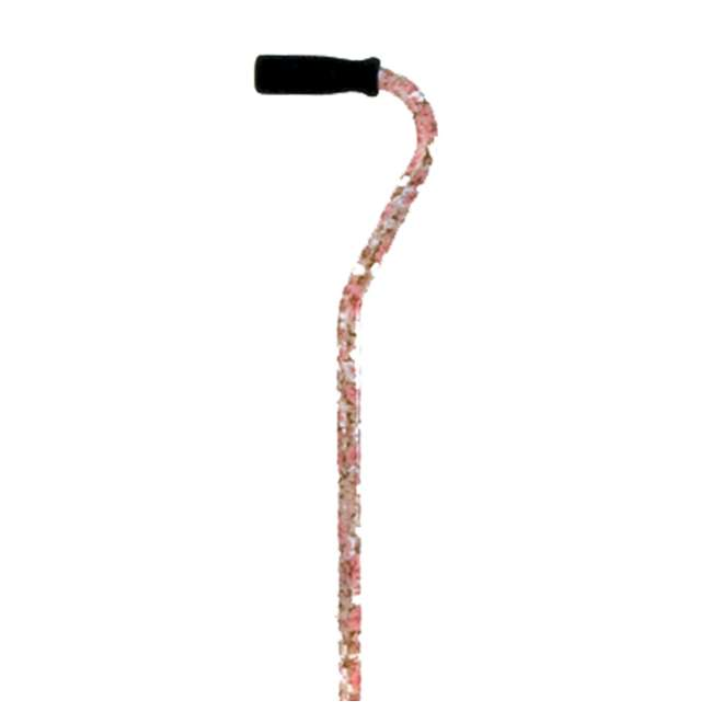 W1303F Essential Medical Supply Endurance Designer Small Base Quad Walking Cane, Floral 3