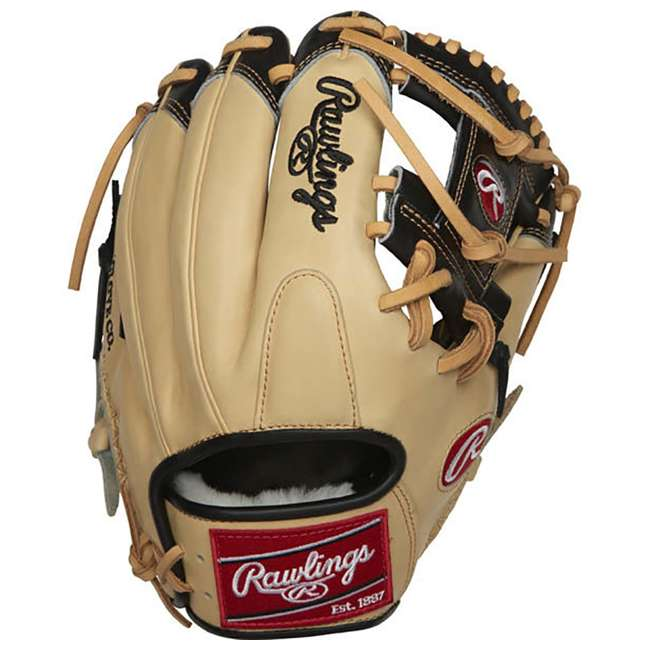 "PRO204-2BCC-OB Rawlings Pro Label 11.5"" Adult Right Hand Infield Baseball Glove (Open Box) 2"