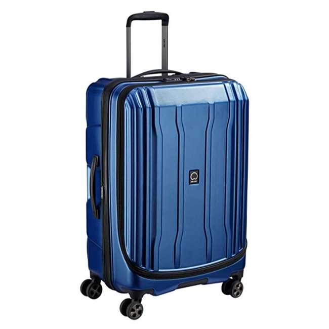 """40207982002 DELSEY Paris Cruise Lite 2.0 25"""" Hardside Expandable Suitcase Travel Bag, Blue 1"""