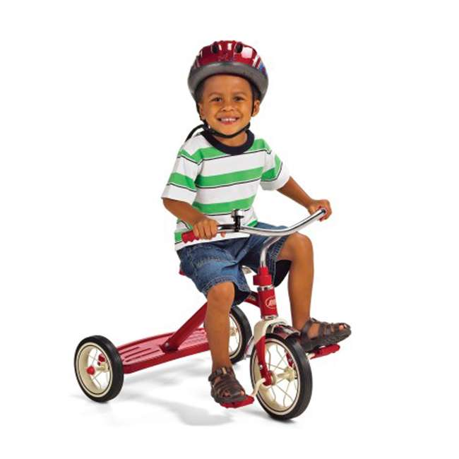 34B Radio Flyer Classic 10 Inch Toddler Tricycle, Red 4
