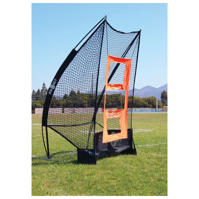 Bow-SoloKicker-BK Bownet Portable Football Sideline Solo Kicker 3